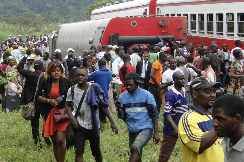 Pociągiem podróżowało znacznie więcej pasażerów niż zazwyczaj /AFP