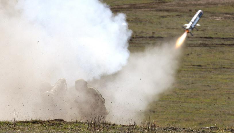 Pocisk przeciwpancerny Javelin, zdjęcie ilustracyjne /WILLIAM WEST / AFP /AFP