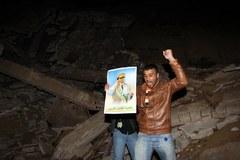 Pociski trafiły w rezydencję Kadafiego
