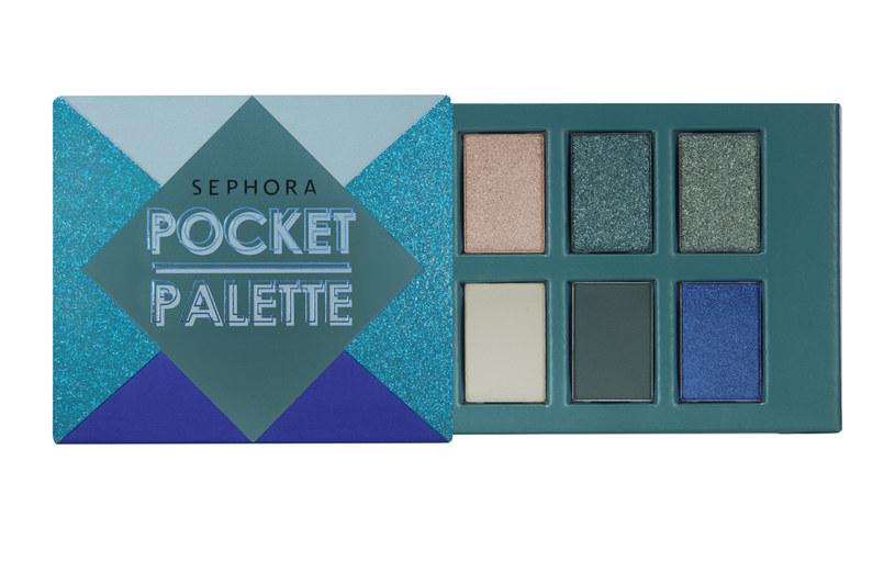 POCKET PALETTE LET'S PLAY SEPHORA COLLECTION /materiały prasowe