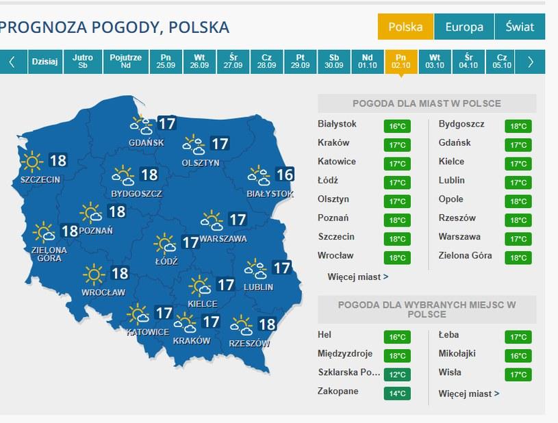 Początek polskiej złotej jesieni? /INTERIA.PL
