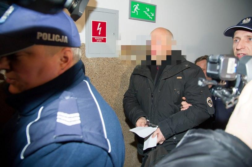 Początek procesu Krystiana W. pseudonim Krystek /Fot. Wojciech Strozyk /Reporter
