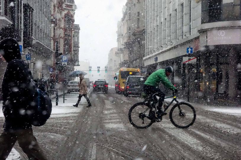 Początek roku przyniesie opady śniegu /Piotr Kamionka /Reporter