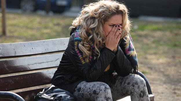 Początkowa radość Patrycji z adopcji Bianki i niespodziewanej ciąży, ustąpi miejsca rozpaczy z powodu choroby. /Polsat
