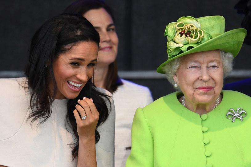 Początkowo Meghan Markle miała dobry kontakt z królową / Jeff J Mitchell / Staff /Getty Images