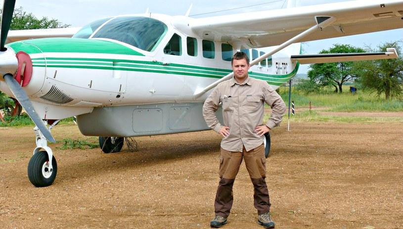 - Początkowo planowałem zostać pilotem samolotów pasażerskich, jednak realna ocena własnych zdolności matematyczno-fizycznych kazała mi porzucić ten zamysł - Jacek Jakubowski /archiwum prywatne