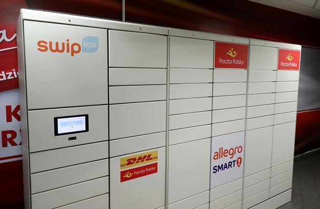 Poczta oddała do użytku pierwsze automaty paczkowe /fot. Piotr Molecki /East News