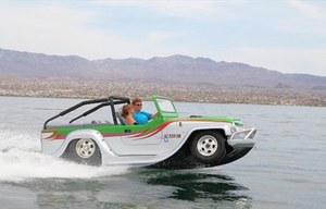 Poczuj się jak Pan Samochodzik - amfibia idealna na lato