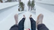 Poczujesz to, co skoczek narciarski? Zobacz