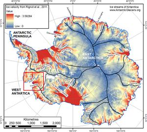 Pod antarktycznym lodowcem odkryto ogromną pustkę