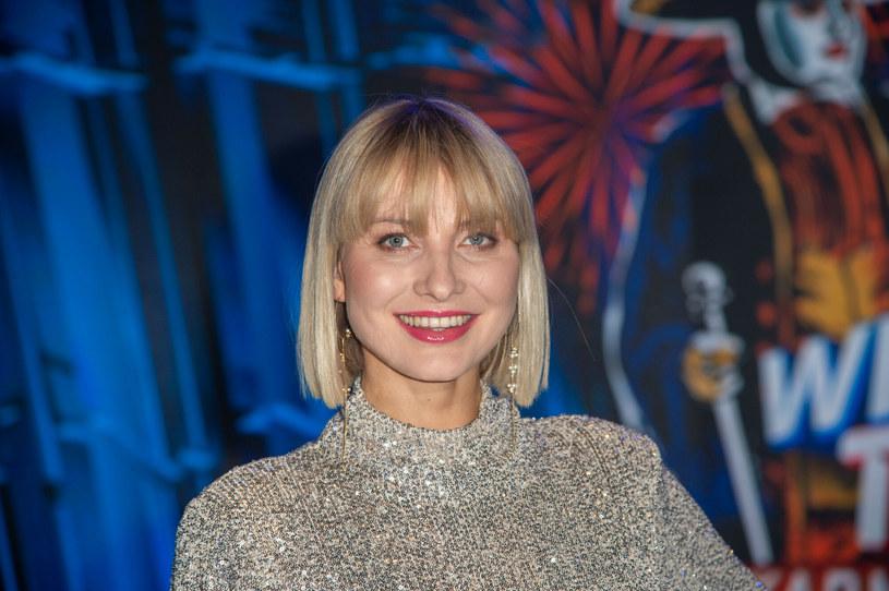 Pod koniec stycznia 2020 r. aktorka powitała na świecie córkę Ewę /Artur Zawadzki /Reporter