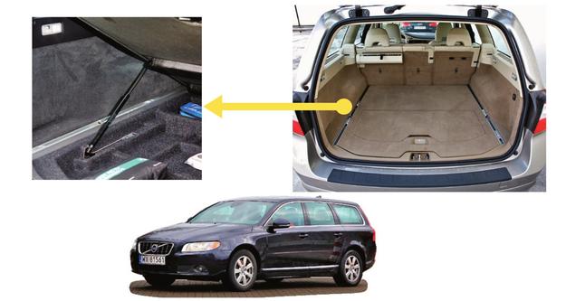 Pod podłogą bagażnika znajduje się schowek. Podłogi nie trzeba trzymać ręką - trzyma się sama. /Motor