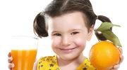 Podaj dziecku witaminy do picia