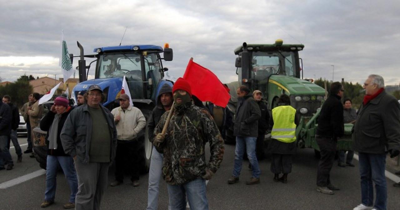 Podatkowy protest we Francji