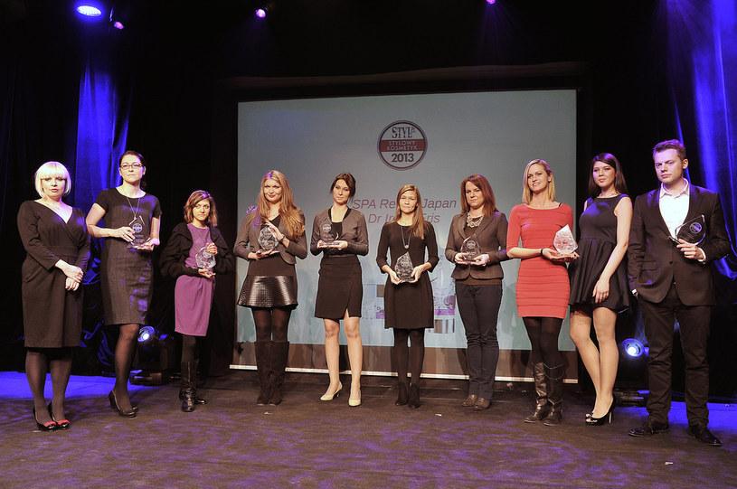 Podcza gali ogłoszono zwycięzców plebiscytu Stylowy Kosmetyk 2013 /Dariusz Gałązka /AKPA