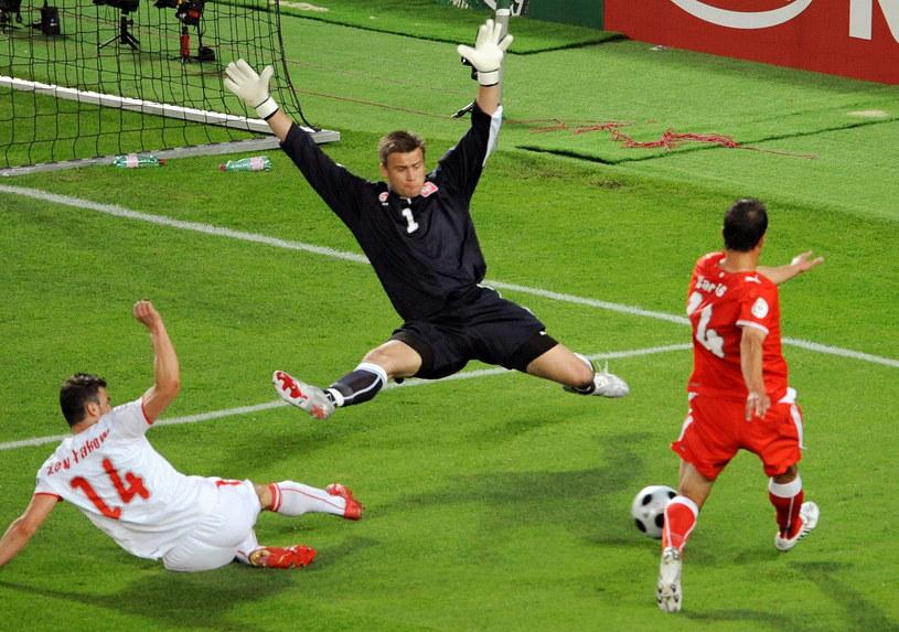 Podczas Euro 2008 Artur Boruc rozegrał mecz życia z Austrią /AFP