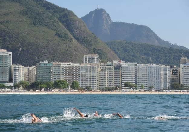 Podczas igrzysk w Rio de Janeiro ma być dostępnych ponad 50 tysięcy miejsc /AFP