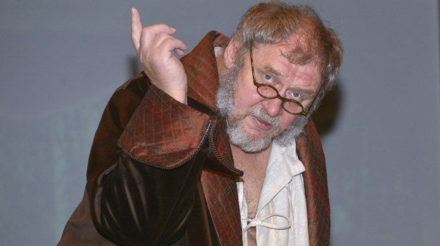 Podczas jubileuszu w Teatrze 6.piętro wcielił się w 5. różnych postaci czechowowskich. /Gałązka /AKPA