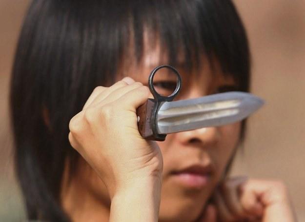 Podczas kłótni kobiety sięgają m.in. po noże... /Getty Images/Flash Press Media