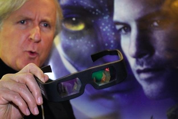 """Podczas kręcenia """"Avatara"""" Cameron wykorzystywał ekrany Panasonic /AFP"""