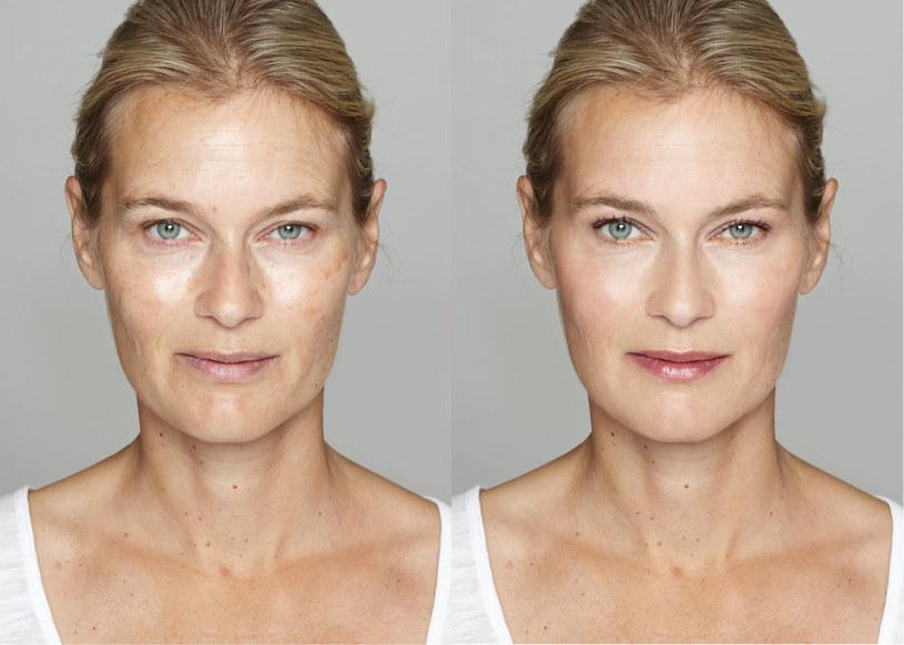 Podczas malowania twarzy skup się na atutach urody i je wyeksponuj /123RF/PICSEL