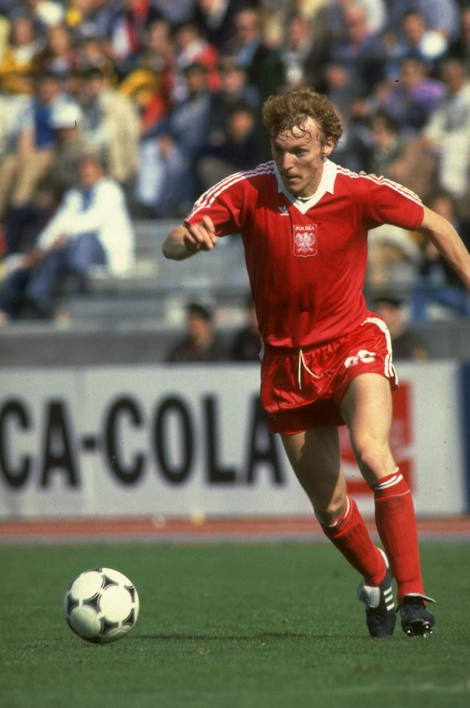 Podczas meczu w 1987 r. /Getty Images/Flash Press Media