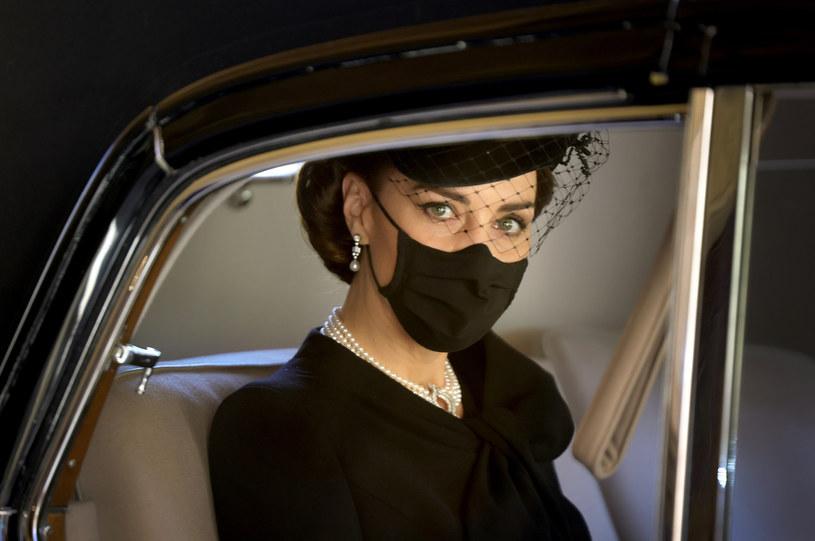 Podczas pogrzebu Kate wyglądała niezwykle elegancko i dostojnie /Chris Jackson /Getty Images