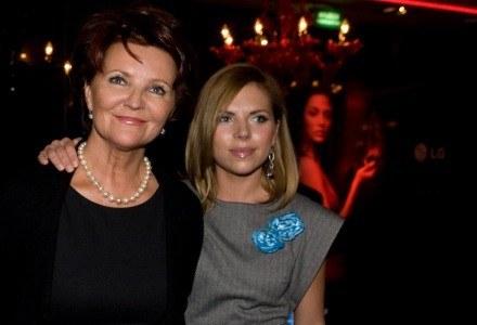 Podczas polskiej premiery KF 750 Secret, o telefonie rozmawiała Jolanta Kwaśniewska z córką. /materiały prasowe