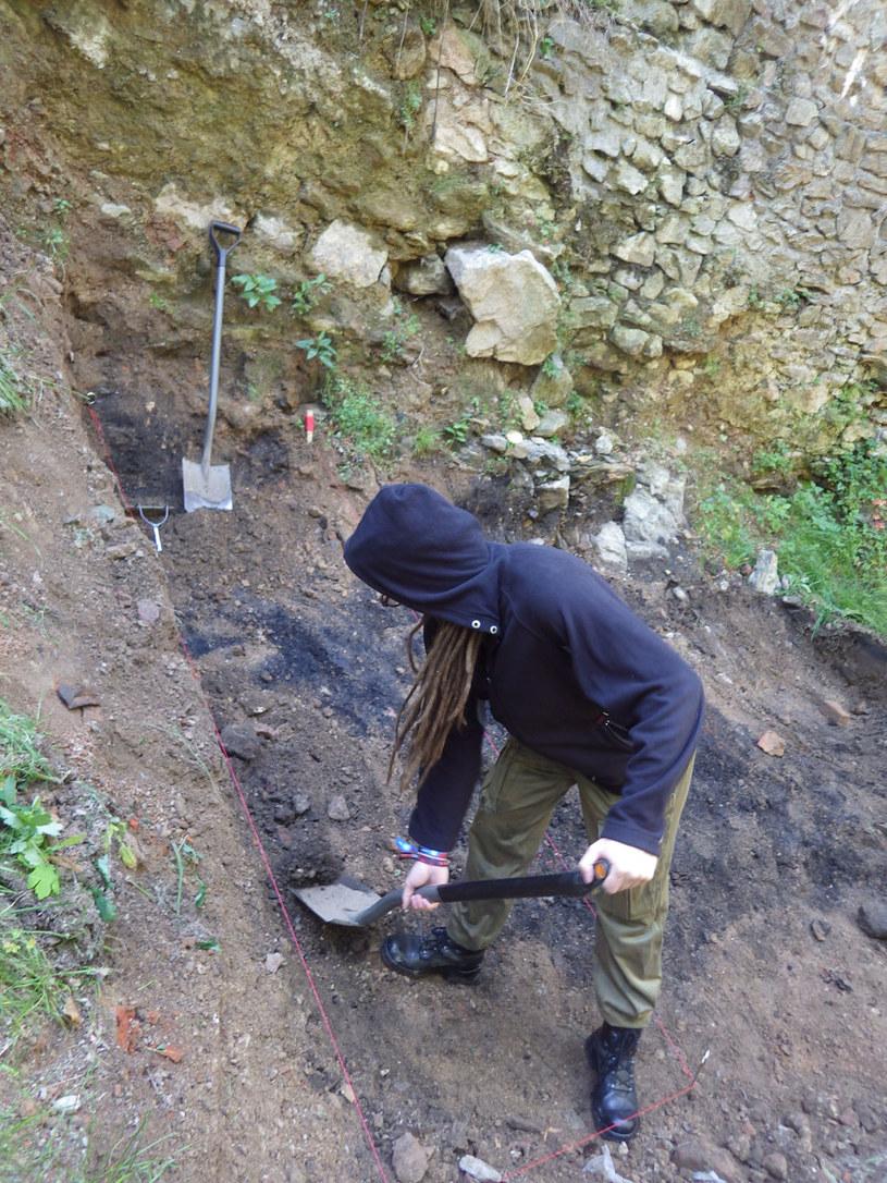 Podczas prac archeologicznych zaczęły się pojawiać zupełnie nowe, nieznane dotychczas fakty /Odkrywca
