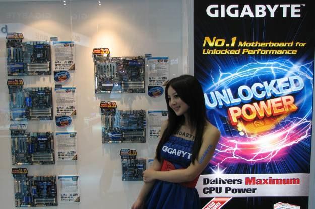 Podczas targó Computex Gigabyte zaprezentował kilkanaście nowych płyt. Wszystkie z USB 3.0 /INTERIA.PL