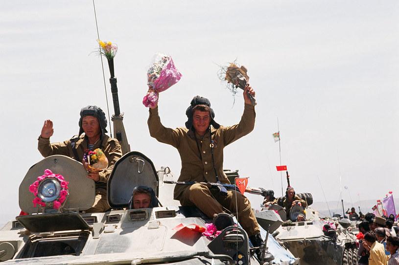 Podczas wojny w Afganistanie Rosjanie powszechnie stosowali wszelkie możliwe narkotyki /Patrick ROBERT/Sygma  /Getty Images