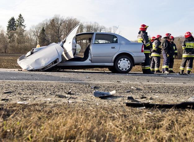 Podczas zderzenia działają potężne siły / Fot: Piotr Tracz /Reporter