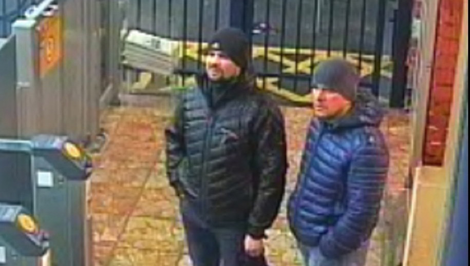 Podejrzani o zamach na Skripalów uchwyceni przez kamery monitoringu /LONDON METROPOLITAN POLICE/HANDOUT /PAP/EPA
