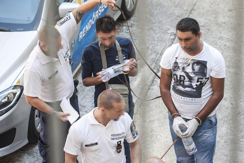 Podejrzani w sprawie śmierci 71 uchodźców /PAP/EPA