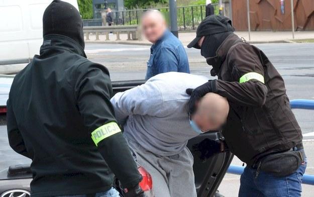 Podejrzani zostali zatrzymani przez policję /Policja