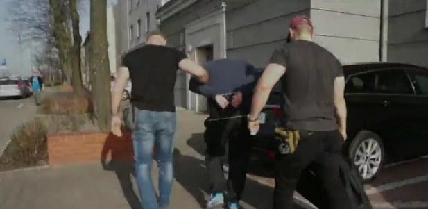 Podejrzany był poszukiwany listem gończym /Policja