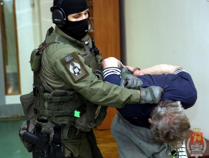 Podejrzewany o zabójstwo 38-latek trafił do policyjnej celi /Policja
