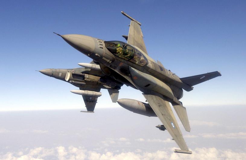 Poderwano samoloty F-16 /AFP