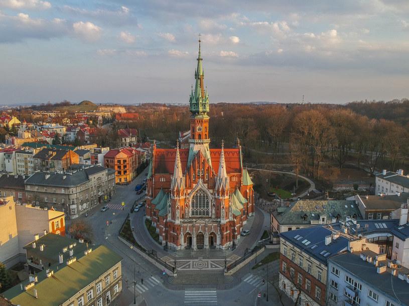 Podgórze jest jedną z najciekawszych dzielnic Krakowa /Beata Zawrzel /Reporter