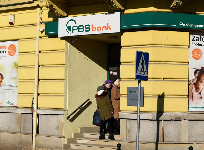 Podkarpacki Bank Spółdzielczy w Sanoku /Marek Dybas /Reporter