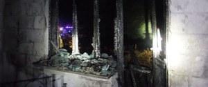 Podkarpackie: 53-latek zginął w pożarze domu