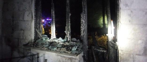 Podkarpackie: 53-letni mężczyzna zginął w pożarze domu /KP PSP Leżajsk /