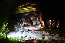 Podkarpackie: Tragiczny wypadek ukraińskiego autobusu