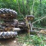 Podkarpackie: Traktor przygniótł mężczyznę podczas pracy. 72-latek nie żyje
