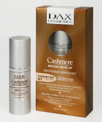 Podkład Dax Cosmetics Cashmere Mousse Make-up /materiały prasowe