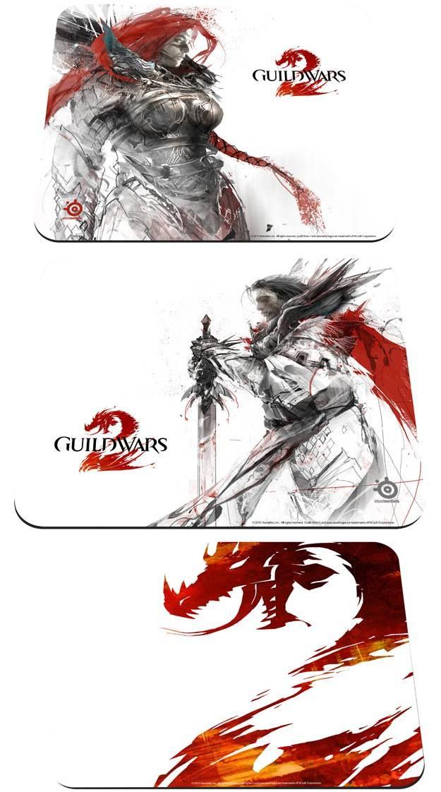 Podkładki pod myszkę SteelSeries dedykowane grze Guild Wars 2 /Informacja prasowa