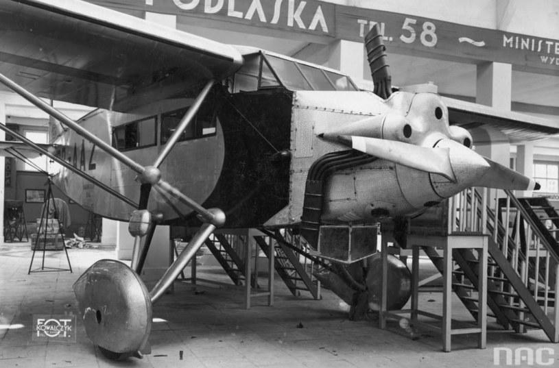 Podlaska Wytwórnia Samolotów /Ze zbiorów Narodowego Archiwum Cyfrowego