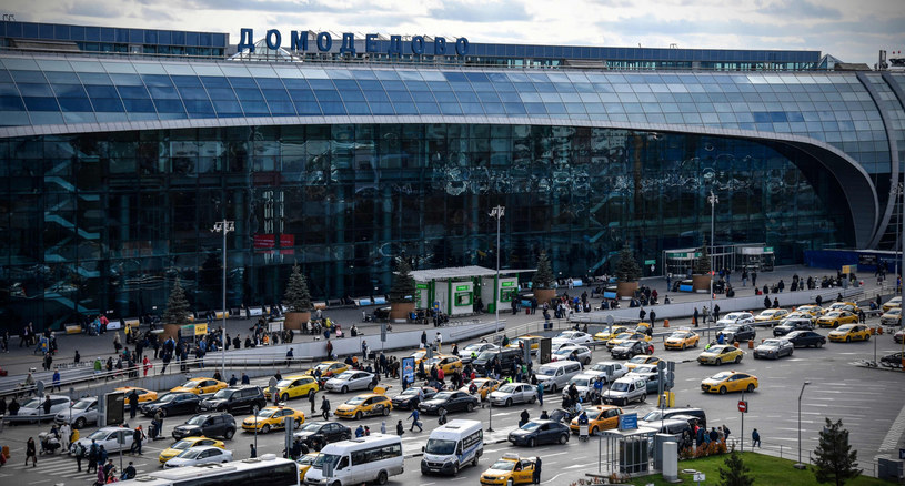 Podmoskiewskie lotnisko Domodedovo /ALEXANDER NEMENOV /East News