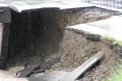Podmyty most w Kamienicy