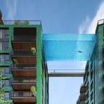 Podniebny basen 35 metrów nad ziemią